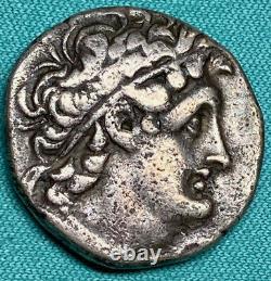 116-107 BC Greek Egypt Ptolemy IX Soter II AR Tetradrachm XF PLUS WITH PEDIGREE