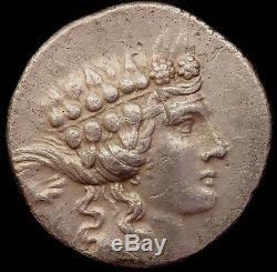 140-110 BC Thrace Maroneia Thasos silver Tetradrachm coin