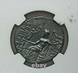 152-145 Bc Seleucid Kingdom Alexander I Balas Ar Silver Tetradrachm Ngc Ch Vf