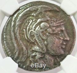 2nd-1st CENTURIES BC SILVER ATTICA ATHEN TETRADRACHM ATHENA OWL NEW STYLE NGC VF