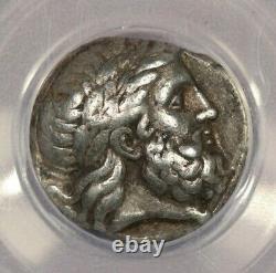 359-336 BC Greek Philip II Ar Tetradrachm ANACS VF35