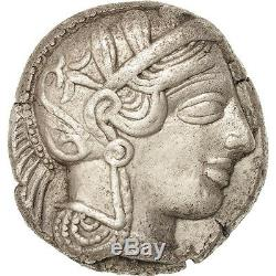 #38840 Attica, Tetradrachm, 490-407 AV JC, Athens, AU(50-53), Silver, SNG