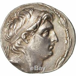 #502430 Seleucia, Demetrios I Soter, Tetradrachm, Year 158, Antioch
