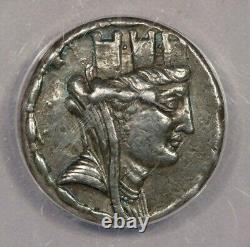 59-58 BC Greek Sytria, Seleukis and Pieria Laodikeia AR Tetradrachm ANACS EF40