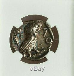 5th-4th Centuries Bc Near East Or Egypt Ar Tetradrachm Ngc Xf 4/5 2/5 Ex-mount