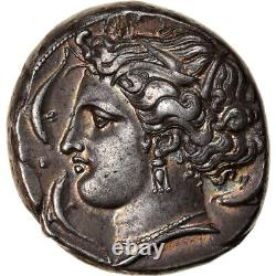 #906658 Coin, Sicily, Siculo-Punic, Tetradrachm, 350-320 BC, Very rare, Silver