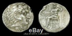 ALEXANDER the GREAT Tetradrachm Philip III Herakles Ancient Greek Silver Coin