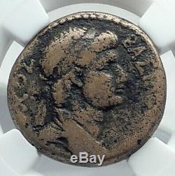 ANTIOCHOS IV Armenian Commagene Kingdom Ancient Greek Coin SCORPION NGC i77883