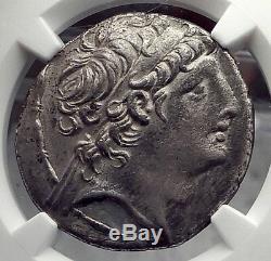 ANTIOCHOS VIII Grypos Seleukid Ancient Silver Tetradrachm Greek Coin NGC i58856