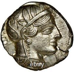 ATTICA Athens NGC Choice AU 5/5 4/5 Ca. 440-404 BC. AR tetradrachm 011