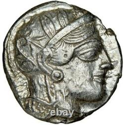 ATTICA. Athens OWL AR Tetradrachm 23mm 17.21gm NGC Ch AU 4/5 4/5 002