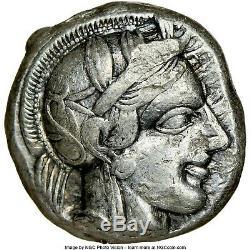 ATTICA. Athens OWL NGC Ch VF 5/5 2/5 AFFORDABLE AR TETRADRACHM 124