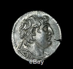 A 6, Greek Silver Tetradrachm of king Antiochos VII