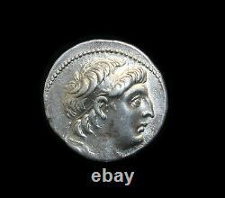 A 7, Greek Silver Tetradrachm of king Antiochus VII