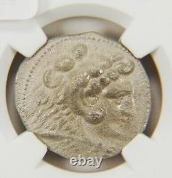Alexander Great, NGC XF, 336-323 BC, Kingdom of Macedon, AR Tetradrachm, AC198