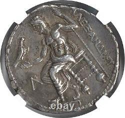 Alexander III NGC Ch XF 5/5 4/5 Kingdom of Macedon AR Tetradrachm 019