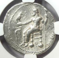 Alexander the Great III AR Tetradrachm 336 BC NGC VF Rare Lifetime Issue