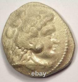 Alexander the Great III AR Tetradrachm Coin 336-323 BC AU Details