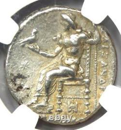Alexander the Great III AR Tetradrachm Coin 336-323 BC Certified NGC Choice XF
