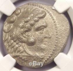 Alexander the Great III AR Tetradrachm Coin 336-323 BC Certified NGC XF