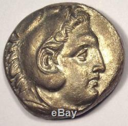 Alexander the Great III AR Tetradrachm Coin 336-323 BC Choice XF Condition
