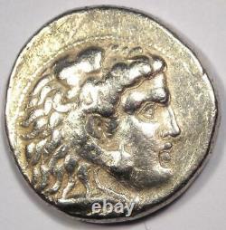 Alexander the Great III AR Tetradrachm Coin 336-323 BC Fine Condition