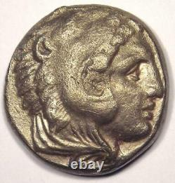 Alexander the Great III AR Tetradrachm Coin 336-323 BC Nice XF Condition