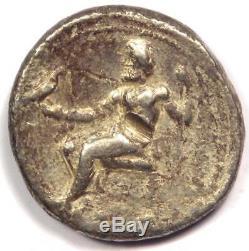 Alexander the Great III AR Tetradrachm Coin 336-323 BC VF (Very Fine)