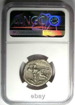 Alexander the Great III AR Tetradrachm Coin 336 BC NGC Ch VF Lifetime Issue
