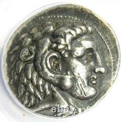 Alexander the Great III AR Tetradrachm Silver Coin 323-317 BC ANACS VF35