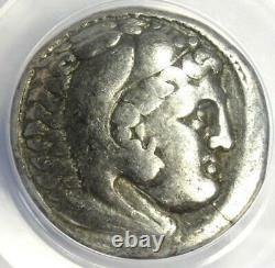 Alexander the Great III AR Tetradrachm Silver Coin 336-323 BC ANACS VF25