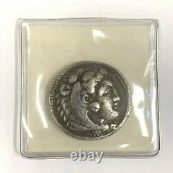 Alexander the Great III Tetradrachm Silver Coin c. 336-323 BC Kings of Macedonia