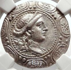 Amphipolis in MACEDONIA Ancient 167BC Silver Greek Tetradrachm Coin NGC i66891