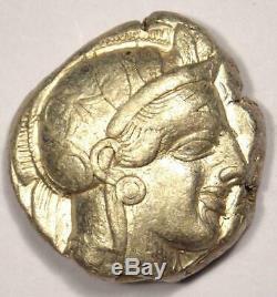 Ancient Athens Greece Athena Owl Tetradrachm Coin (454-404 BC) Nice Choice VF
