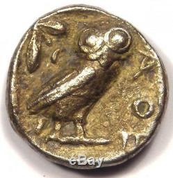 Ancient Athens Greece Athena Owl Tetradrachm Coin (454-404 BC) VF (Very Fine)