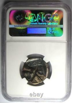 Ancient Athens Greece Athena Owl Tetradrachm Silver Coin (393-294 BC) NGC Fine