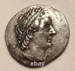 Ancient Egypt, Genuine Ptolemy II AR Tetradrachm 254-253 BC