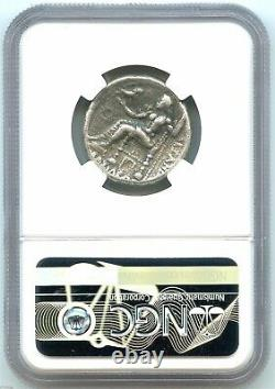 Ancient Greece, Alexander the Great Silver Tetradrachm, NGC VF, Very Nice Coin