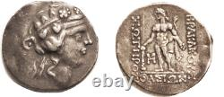 Ancient Greece after 148 BC Eastern Celts Silver Tetradrachm Dionysos/Herakles
