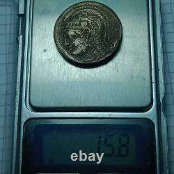 Ancient Greek Ar Silver Tetradrachm Coin Athens Attica Owl 15.8G