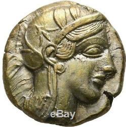 Ancient Greek. Attica Athens circa 454-404 BC. Toned Tetradrachm Owl Silver Coin