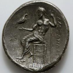 Ancient Greek Coin Silver Tetradrachm Alexander The Great 336-322 Bc