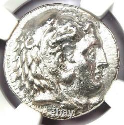 Ancient Greek Philip III AR Tetradrachm Coin 323-317 BC. Certified NGC Choice XF