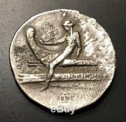 Ancient Greek Silver Tetradrachm Antigonos III Doson 229-221 B. C. Rare Coin
