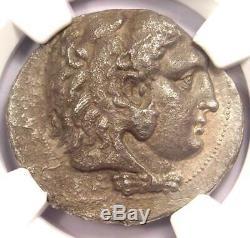 Ancient Macedon Philip III AR Tetradrachm Coin 323-317 BC Certified NGC VF