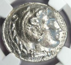 Ancient Macedon Philip III AR Tetradrachm Coin 323-317 BC Certified NGC XF EF