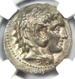 Ancient Macedon Philip III AR Tetradrachm Coin 323 BC Certified NGC Choice VF