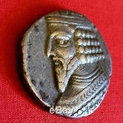 Ancient Parthia/Persia/Greek/Goodarz II, Gotarzes II, c. AD 44-51 Bl Tetradrachm