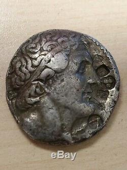 Ancient Silver Coin, Egypt, Ptolemy and Eagle back, Tetradrachm Nice Condition