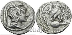 Athena Attica Tetradrachm New Style (Ancient Owl Coin)